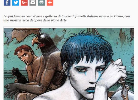 """Giornale del Popolo, La """"Little Nemo"""" sbarca a Lugano – 14 Luglio 2015"""