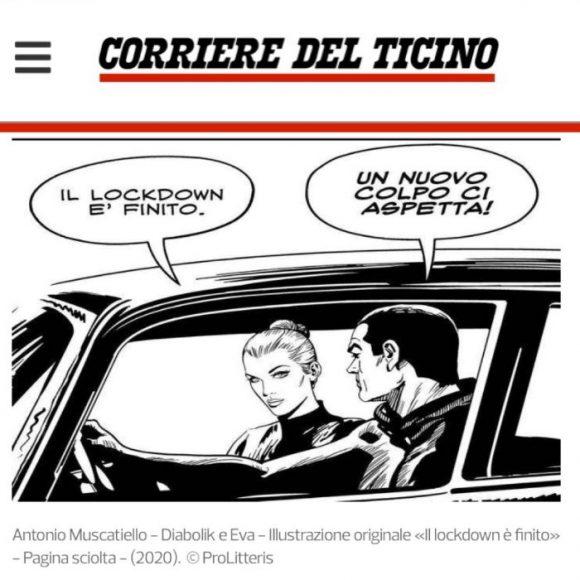 Fumetti all'asta per beneficenza   La galleria d'arte Marco Lucchetti di Lugano ha lanciato online l'asta #disegnamoXaiutare a sostegno dell'Ospedale Papa Giovanni XXIII di Bergamo – All'incanto dal 22 maggio al 3 giugno oltre 100 opere realizzate da fumettisti italiani