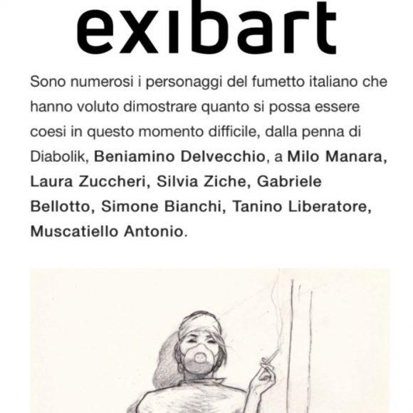 EXIBART- AbbracciaMI e DI-SEGNALI: due iniziative per Croce Rossa Milano e Ospedale di Bergamo